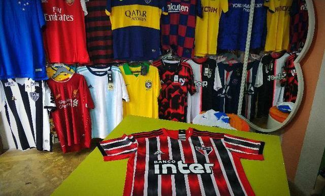 Camisas de futebol oficiais Importadas