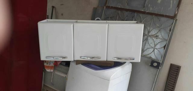 Vendo 2 armário de cozinha de parede de 3 portas não reservo - Foto 4