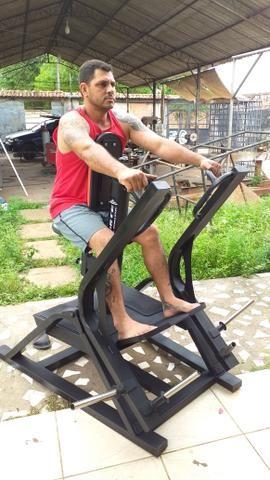 Fabricação de máquinas e equipamentos para academias de musculação