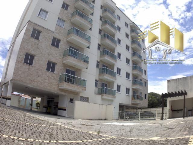 Laz- Alugo apartamento com varanda perto da praia (09) - Foto 16