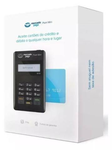 Máquina De Cartão Débito E Crédito Point Mini - Mercado Pago - Foto 4