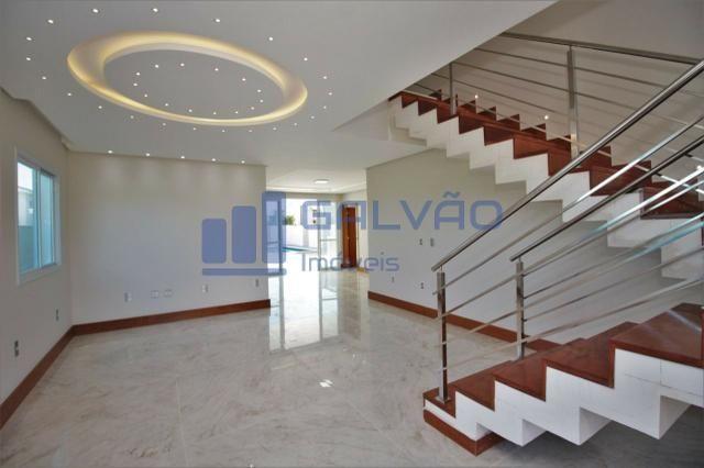 JG. Excelente / linda casa duplex no Boulevard Lagoa com 4 suítes!! - Foto 10