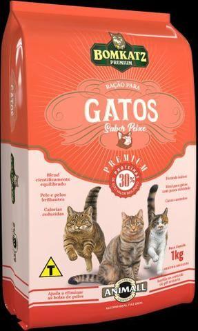 Ração para gatos Bom katz