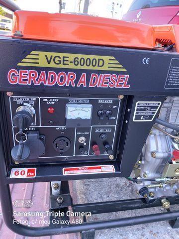 Gerador diesel 10 HP 6000 W - Foto 5