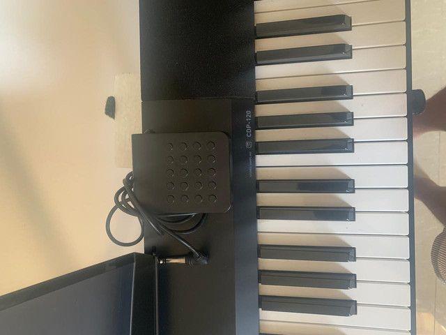 Piano eletrônico CASIO - CDP-120 - Foto 4