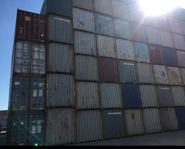 Container marítimo DC 40  Paranaguá