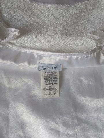 Vestido Paetê Branco(M) - Foto 4