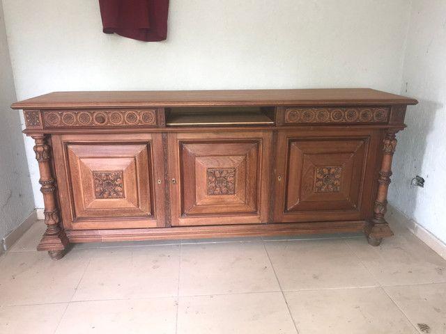Arca imperial em madeira maciça