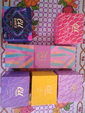 6 kits de Sabonetes Hidratante Linha Eu Jequiti