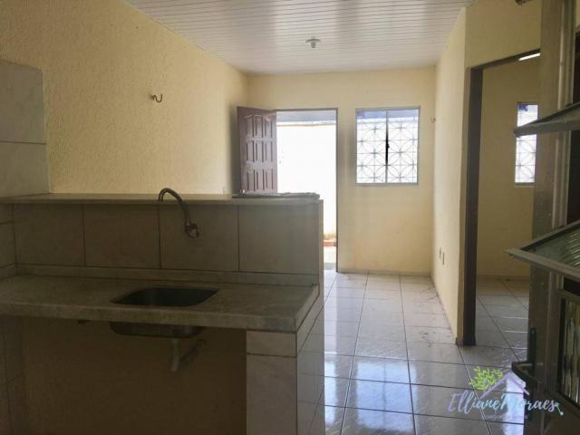 Casa com 2 dormitórios à venda, 40 m² por R$ 97.000,00 - Precabura - Eusébio/CE - Foto 3
