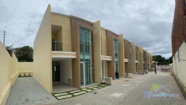 Casa à venda, 137 m² por R$ 480.000,00 - Amador - Eusébio/CE