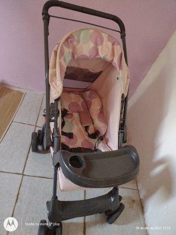 Carrinho de bebê menina. - Foto 2