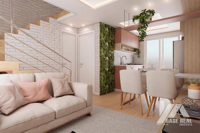 Sobrado à venda, 60 m² por R$ 169.900,00 - Jardim Carvalho - Ponta Grossa/PR - Foto 2