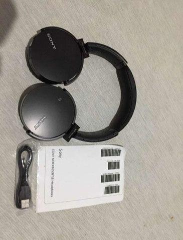 Fone Sony Mdr-xb650bt Extra Bass Bluetooth Original - Foto 2