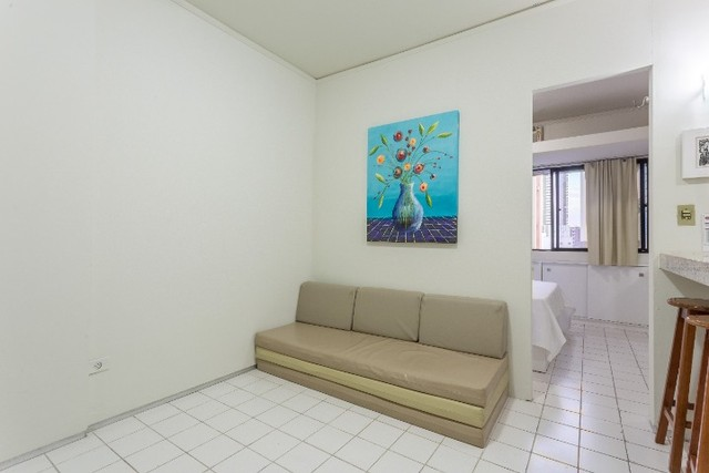 Flat 105, aluguel tem 34 metros quadrados com 1 quarto em Boa Viagem - Recife - PE - Foto 3