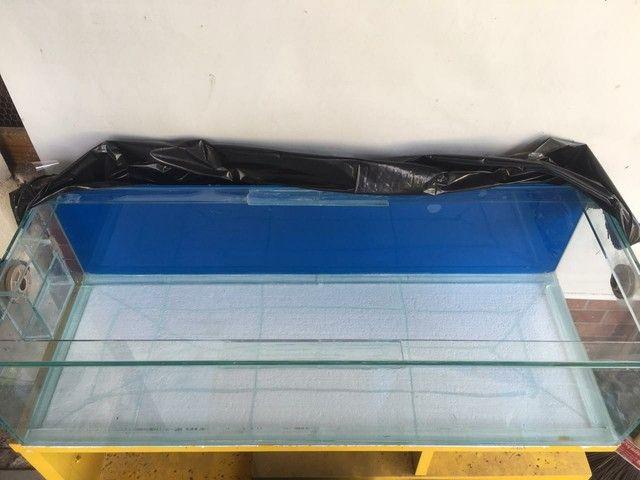Aquário vidro 144 litros