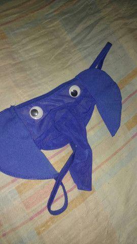 Cueca Elefante Azul G - Foto 2