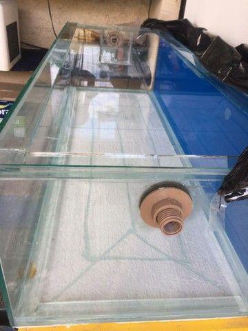 Aquário vidro 144 litros  - Foto 3