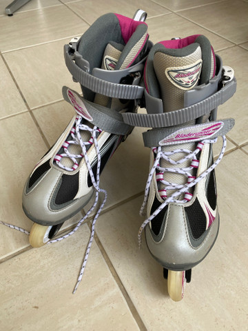 Patins roller in line importado USA powerblade - Foto 6