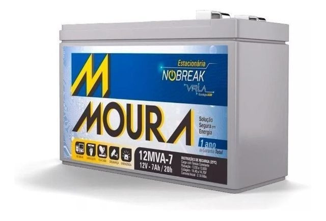 Bateria de Nobreak Nova 7Ah em 10x no cartão =
