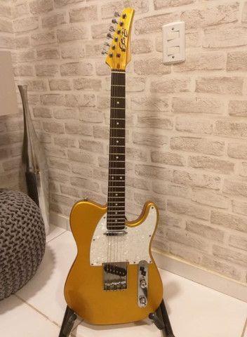 Vendo Guitarra Seyzi Telecaster Television - Foto 2