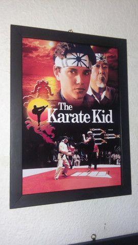 Quadros Karate Kid e Cobra Kai