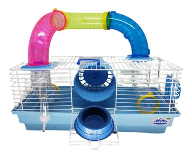 Gaiola Para Hamster Montada Playground Completa - Foto 2