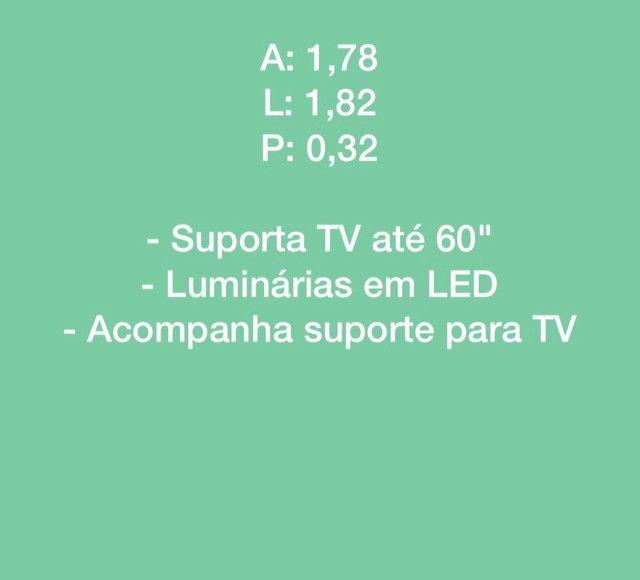 Home Suspenso P/ TV ate  60? com LED !!! - Foto 3