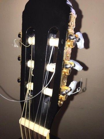 Vendo violão Eagle modelo DH69-BK - Foto 4