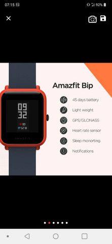 Amazefit bip A1608( versão com gps) - Foto 2