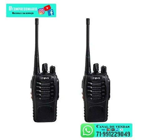 Rádio Comunicador Portátil De Duas Vias Profissional  - Foto 2