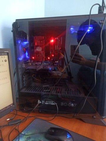 PC Gamer Completo AMD Radeon RX 560 AMD Fx-6300 8GB de Ram  - Foto 2