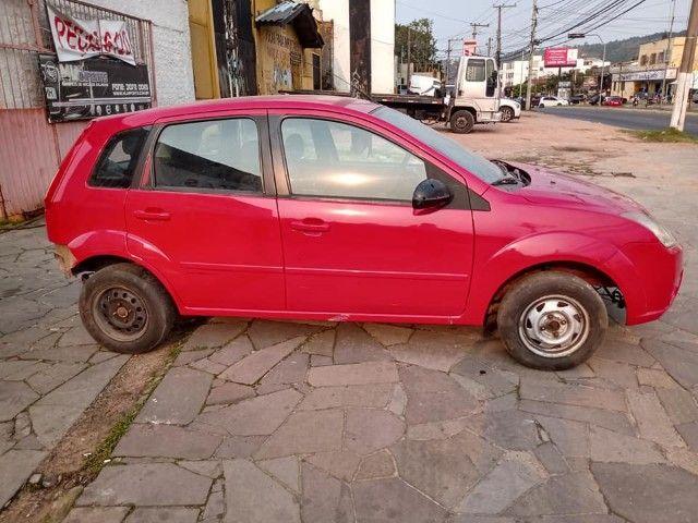 Sucata Peças Ford Fiesta zetec rocam completo compressor caixa - Foto 6