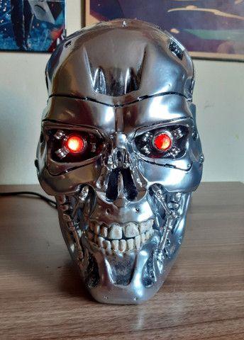 O Exterminador Do Futuro Crânio T800 Tamanho Real Escala 1/1 - Foto 2