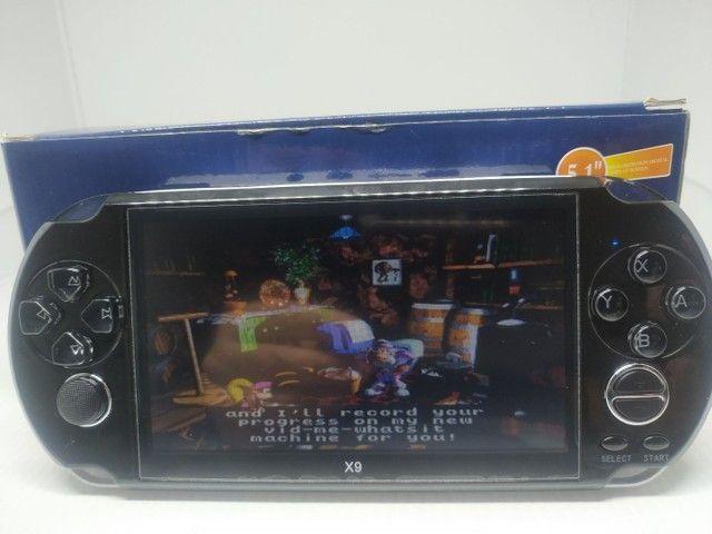 Vídeo game portátil com mil jogos  - Foto 3