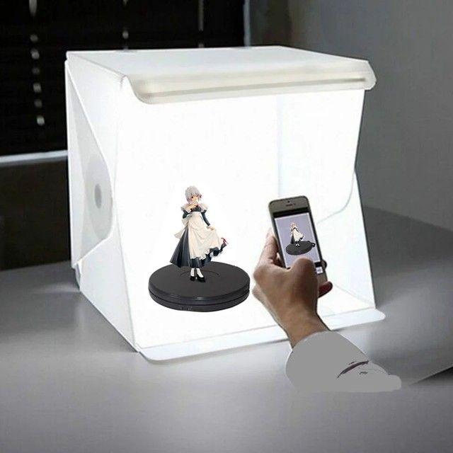 Mini Estúdio  Portátil <br>Com Luz de Led - Foto 4