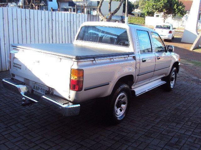 Hilux sr5 2.8 2001/01 diesel 4x4 completa reliquia !!! - Foto 4