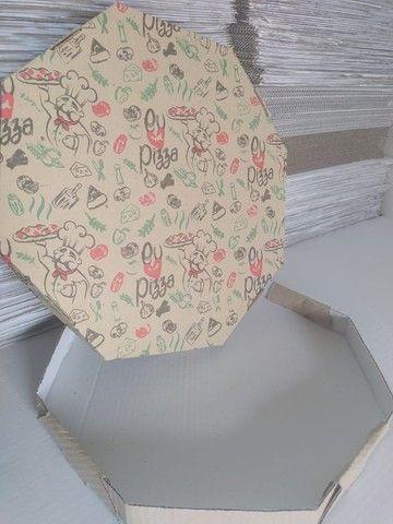 Caixa Oitavada de Pizza N 35 * Preço imbatível * - Foto 3