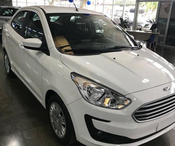 Novo Ford Ka Sedan Se Cv Manual  Km Tx Zero Em
