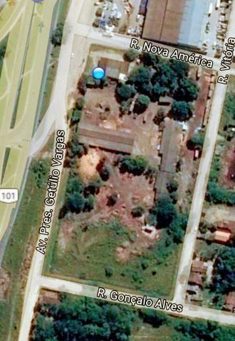 Área nobre em Teixeira de Freitas