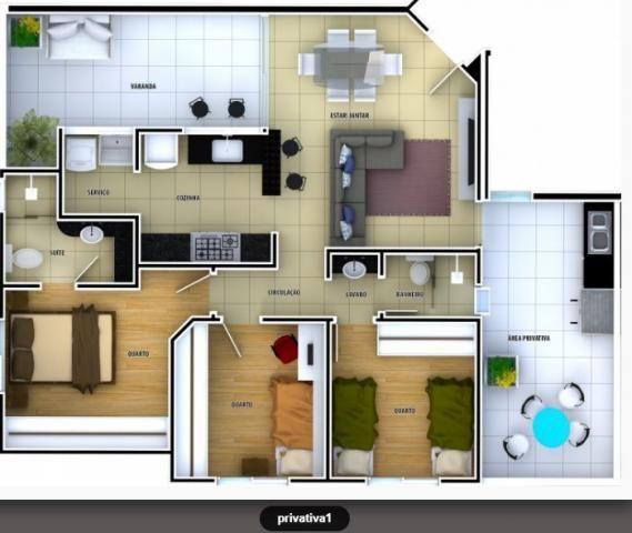 Apartamento 3 quartos no Ouro Preto à venda - cod: 220847