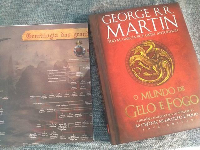 Livro edição especial Game of Thrones