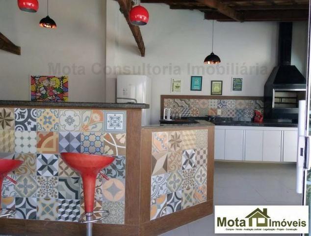 Mota Imóveis - Centro de Araruama Linda Casa 3 Qts com Piscina eÁrea Gourmet. CA-393 - Foto 5