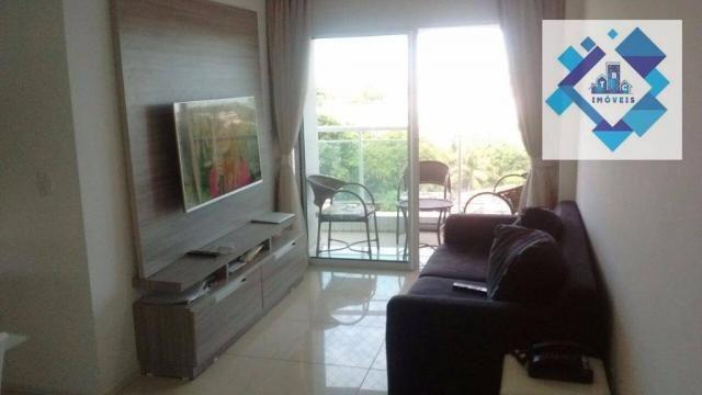 Apartamento com 3 dormitórios à venda, 72 m² por R$ 460.000,00 - Guararapes - Fortaleza/CE - Foto 8