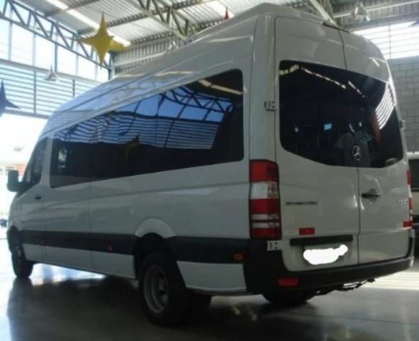 MB Sprinter Van Luxo 2016 com parcelas - Foto 3