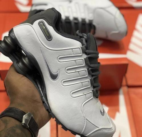 Tênis Nike shox 4 molas feminino masculino infantil promoção ... 4de455b75995b