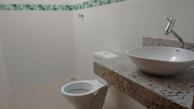 Casa em Ipatinga, 3 qts/suite, 110 m², 2 vags 5x5 mts, piso porc retif. Valor 240 mil - Foto 3