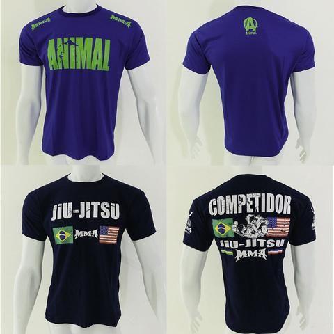 c9593ffae1 10 Camisetas De Mma Jiu Jitsu Boxe Muay Thai - Frete Gratis - Roupas ...