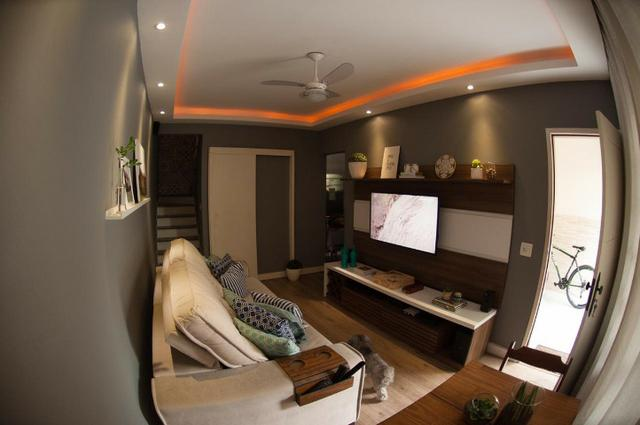 Vila da Penha Junto Shopping3000 Casa Duplex SemiLuxo Varanda 2Qts 2Banheiros 1vaga - Foto 4