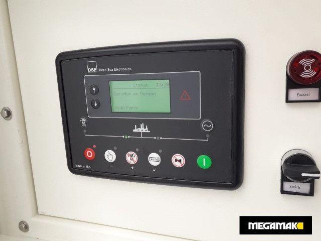 Gerador de Energia Diesel 65kva, Silenciado e Automático - Pronta Entrega - Foto 3